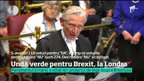 La opt luni de la referendum, alegerea britanicilor de ieşire din Uniunea Europeană devine lege