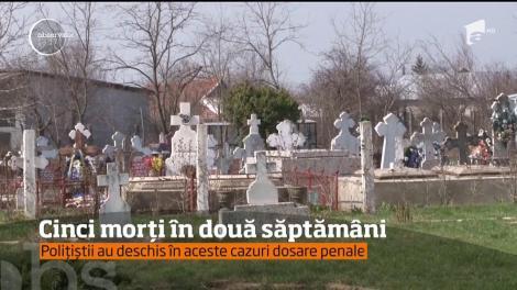 În doar două săptămâni, cinci bărbaţi în putere au murit în condiţii suspecte într-un sat din Dâmboviţa