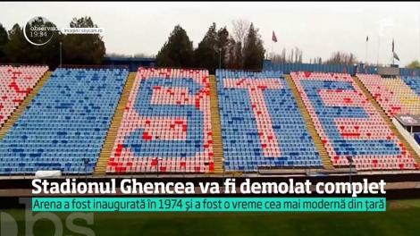 Stadionul Steaua din Ghencea va fi demolat complet