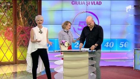 Giulia Anghelescu şi Vlad Huidu au câştigat ediţia de weekend a show-ului 2k1!