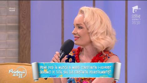 Maria Constantin, colaborare de succes cu Orchestra Fraților Cocoș