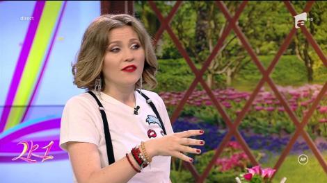 """A uitat şi de răceală! Mirela Boureanu Vaida cântă melodia """"Fericirea are chipul tău"""" a Mihaelei Runceanu: """"E greu cu talentul ăsta"""""""