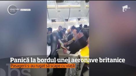 Momente de panică la bordul unei aeronave cu ruta Londra - Polonia