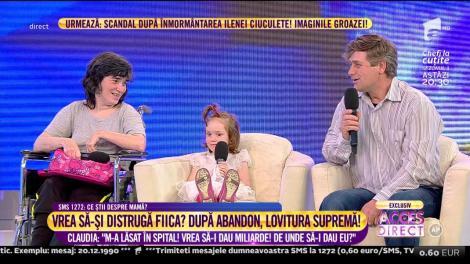 """Ce copil adorabil! Simona Gherghe către Maria: """"Cât fac 1+1? Maria: Mult"""" Cel mai emoționant interviu din istoria """"Acces Direct""""!"""