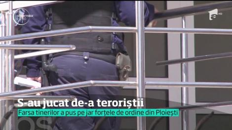 Scena unui atac terorist, pe străzile din Ploiești! Au fost momente de panică în centrul oraşului, după o glumă proastă