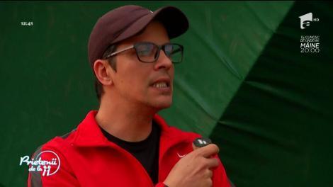 Lucian Viziru, antrenor de tenis pentru copii