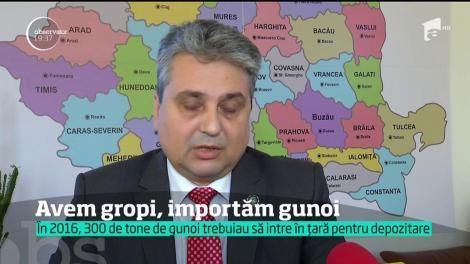"""De la """"grânarul Europei"""" la """"coşul de gunoi al Europei"""". România a devenit locul preferat de ţările vestice pentru depozitarea gunoiului"""