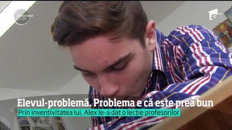 Alex, un elev din Dolj, a fost depunctat după ce a rezolvat în mod inedit o problemă de matematică