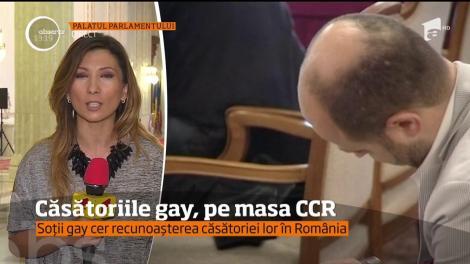 Curtea Constituțională a României dezbate din nou, sesizarea referitoare la nerecunoaşterea căsătoriilor dintre persoane de același sex!