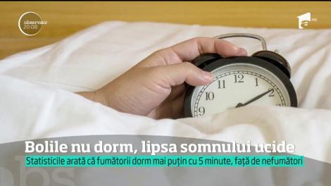 Aproape jumătate din populația României suferă de tulburări de somn