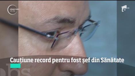 Cauţiune record pentru Nicolae Duţă, fostul preşedinte al CNAS