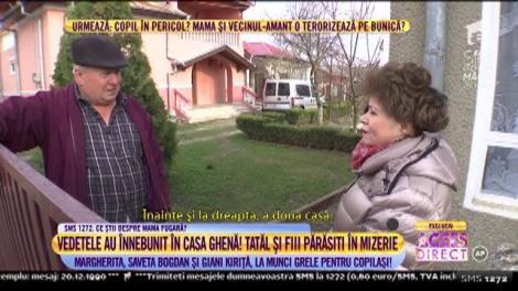 Trei vedete au înnebunit în casa ghenă! Giani Kiriță, Margherita de la Clejani și Saveta Bogdan, la munci grele pentru doi copii sărmani!