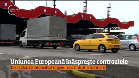 Uniunea Europeană înăspreşte controalele