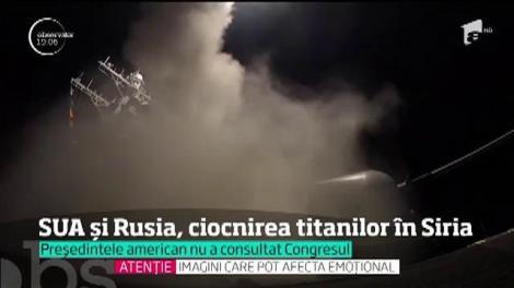 Atacul violent şi neanunţat al americanilor în Siria duce relaţiile dintre SUA şi Rusia în pragul unui colaps