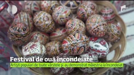 Festivalul Ouălor Încondeiate din Moldavița a ajuns la cea dea 11 a ediţie