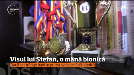 Visul lui Ștefan, o mână bionică