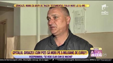 Spitalul groazei din Negrești, Vaslui. Cinci milioane de euro aruncați, efectiv, la gunoi!