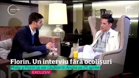 Cel mai controversat cuplu al momentului se pregăteşte de nuntă. Philip şi românul Florin vor deveni soţi şi în acte!