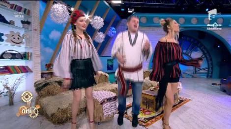"""Hevito, făcut de muica lui oltean, cântă """"Nunta"""" la """"Neatza""""! Nu-i așa că are talent cât zece?"""