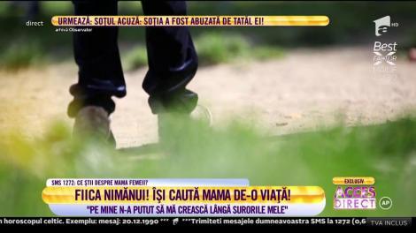 Povestea Mariei, fiica nimănui! România, impresionată de fata care-și caută mama de-o viață!