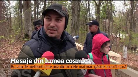 Descoperire uluitoare lângă Cluj Napoca. O bucată de meteorit a fost găsită la Suceag!