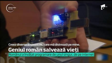 Emanuel Chirilă, tânărul care, la 19 ani, a inventat casca inteligentă ce poate salva viaţa purtătorului, îşi vede viitorul în România