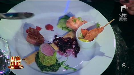 """Concurenții au gătit, iar jurații decid echipa câștigătoare a probei """"Evenimente"""""""