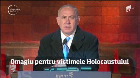 Omagiu pentru victimele Holocaustului