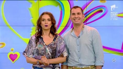 """Adina Halas şi Lucian Hugeanu: """"Ne-am agăţat reciproc"""""""