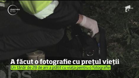 Un tânăr de 28 de ani a plătit cu viaţa pentru o fotografie! Iubita lui a asistat neputincioasă la scena tragică
