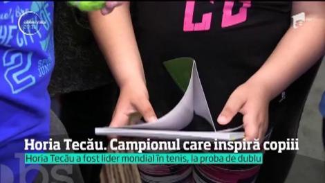 Vicecampionul olimpic Horia Tecău a scris o carte pentru copii
