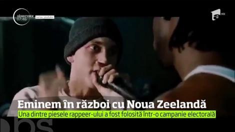 """Rapper-ul Eminem a atacat în justiţie partidul aflat la putere în Noua Zeelandă, pe care îl acuză că a folosit fără autorizaţie, într-o campanie electorală, din 2014 piesa """"Lose Yourself"""""""