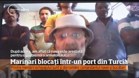 Marinari blocați într-un port din Turcia! Printre membrii echipajului sunt și doi români
