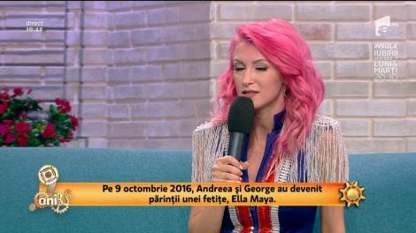 """Andreea Bălan a vorbit despre motivul pentru care jurata de la """"Te cunosc de undeva!""""  nu doreşte să o arate pe micuţa Ella: """"Nu vreau să o expun"""""""