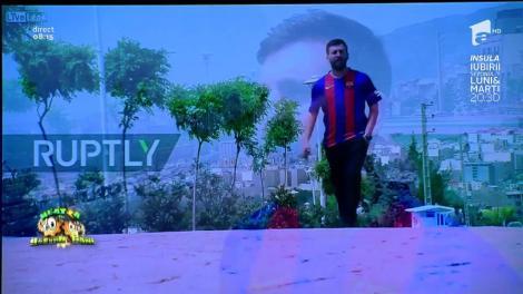 Smiley News: Sosia iraniană a lui Lionel Messi