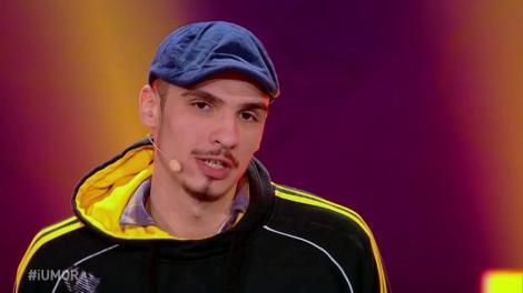 """Bogdan Zloteanu, număr senzațional de stand up comedy la iUmor: """"Sunt bun, Doamne, ai văzut?"""""""