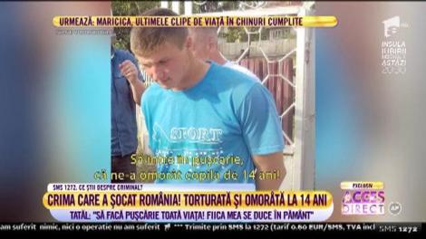 O fată de doar 14 ani, din Vaslui, a fost torturată și ucisă de cel care pretindea că îi este prieten