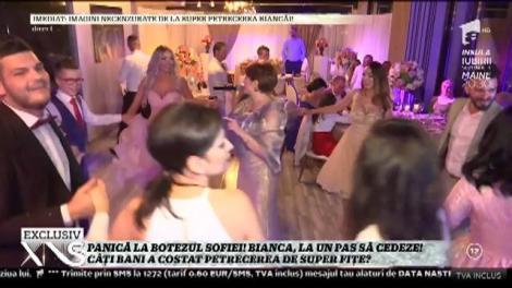Panică la botezul Sofiei. Bianca Drăguşanu a fost la un pas de dezastru, iar invitații au rămas fără cuvinte!
