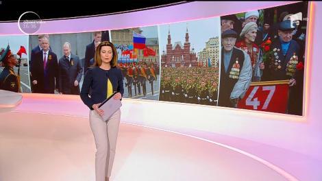 Paradă militară de proporții la Moscova! Zece mii de soldați au defilat în Piața Roșie!
