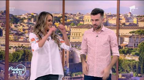 """Diana Munteanu, trasă la răspundere de colegul Ristei: """"E prea de dimineaţă! N-ai acordul părinţilor la TV!"""""""