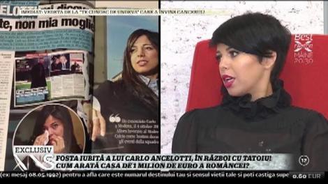 Fosta iubită a lui Carlo Ancelotti, casă de un milion de euro?! Iată cum arată vila în care se răsfață în fiecare zi
