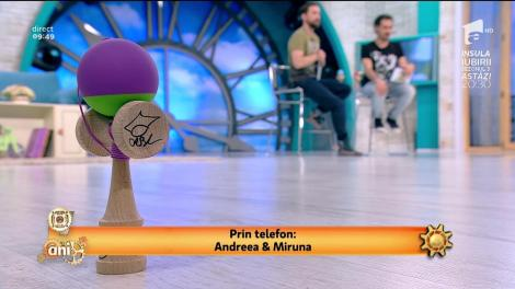 Câștigă o kendama! Andreea vs. Miruna