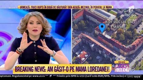 Mama Loredanei a fost localizată! Imagini cu zona unde aceasta locuieşte!