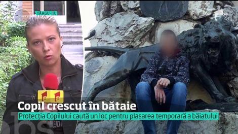 Protecţia copilului din  Târgu-Jiu caută acum un loc pentru plasament pentru copilul batut