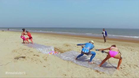 În urma concursului de pe plajă, Robert și ispita Maria au câștigat o ședință foto într-un loc exotic
