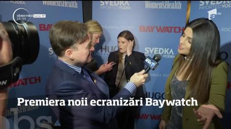 Noul BAYWATCH a fost difuzat, în PREMIERĂ, la New York! Când va putea fi urmărit și în România