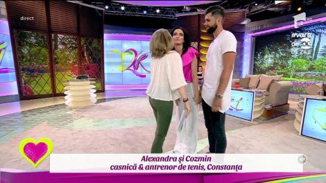 Oana & Călin, Alexandra & Cozmin şi Andreea & Alexandru, cuplurile din ediţia 68-a a emisiunii 2k1