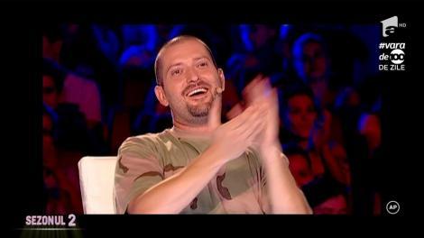 """Voia să fie fermier, dar jurații """"X Factor"""" nu îl văd cu furca în mână, ci cu microfonul pe scenă! Dragoș Udilă, ne-ai impresionat până la lacrimi!"""