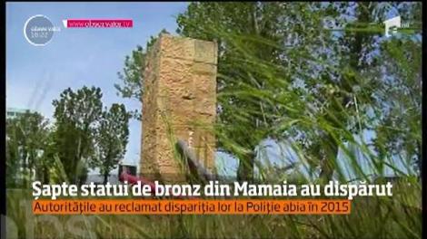 Situaţie revoltătoare la Mamaia! Șapte statui din bronz, realizate de scuptori celebri, au dispărut în anii 2000
