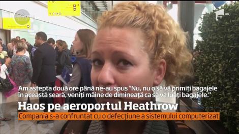 Haos, agitaţie şi nervositate. Mii de pasageri de pe aeroportul Heathrow din Londra au fost nevoiţi să înnopteze pe salteluţe şi scaune